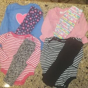 Other - BUNDLED baby girl outfits. Size 12 months